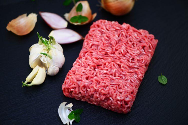 Grau hackfleisch ist Rindfleisch ist